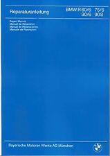 BMW Werkstatthandbuch / Reparaturanleitung R90 R75 / R 90 R 75 R 60 /6 R90S neu