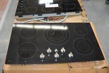 "New listing Ge Pp962Ehes 36"" Black 5 Burner Built-In Electric Cooktop Nob #28466 Hl"