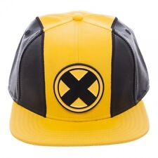 OFFICIAL MARVEL COMICS X-MEN SUIT UP COSTUME STYLED PU SNAPBACK CAP (BRAND NEW)