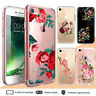 iPhone X XR XS Max 8 7 6 Plus Case Flower III Clear Back Bumper Cover for Apple