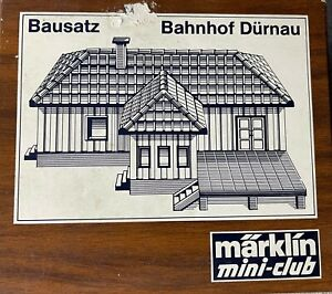 Marklin Mini-club 8962 Bausatz Bahnhof Durnau Model Kit (Train Station)