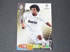 MARCELO BRASIL REAL MADRID UEFA PANINI FOOTBALL CARD CHAMPIONS LEAGUE 2011 2012