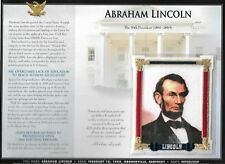 ABRAHAM LINCOLN  WILLABEE & WARD U.S PRESIDENTIAL COLLECTION