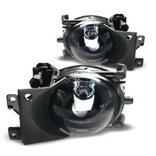 2x Nebelscheinwerfer NSW Klarglas SCHWARZ + Birnen H8 für BMW 5er E39 Facelift
