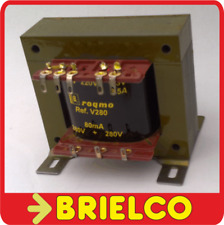 TRANSFORMADOR ALIMENTACION AMPLIFICADOR A VALVULAS 220VAC A 280+280V 6.3V BD8385