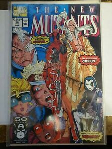 The New Mutants #98 1991 1st App of Deadpool Copycat Domino Marvel NM AN PERFECT