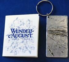 Wendell and August USA Metal Keyring