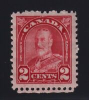 Canada Sc #181 (1930) 2c Deep Red George V Arch Mint VF NH MNH