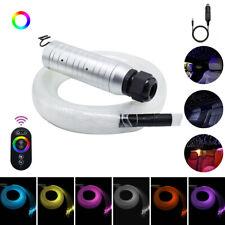 Car Use 6W APP RGB LED Remote Fiber Optic Star Ceiling Kit Light 200pcs*0.75m*3m