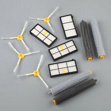 Side Brush & Extractor Brush & Hepa Filter Kit for iRobot Roomba 800 870 880 W