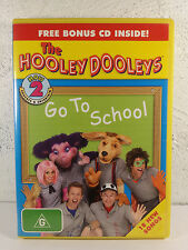 How 2 Go To School WIth The Hooley Dooleys (DVD, 2006) RARE PRESCHOOLER SHOW