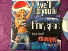 BRITNEY SPEARS RARE Australian Pepsi PROMO Stronger Remix Card Sleeve CD