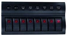 wasserdichtes Schaltpanel mit 8 Schaltern - 12v