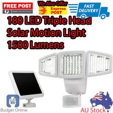 Sunforce 180 LED Triple Head Solar Motion Light 1500 Lumens