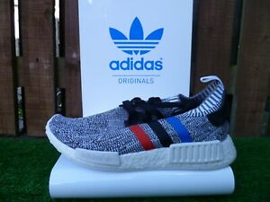 NMD R1_PK UK8.5 BNWT GREY/RED/WHITE/BLUE 80 s casuals 2016 VERY RARE LOOK