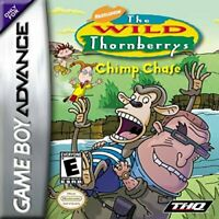 The Wild Thornberrys Chimp Chase - Nintendo Game Boy Advance GBA