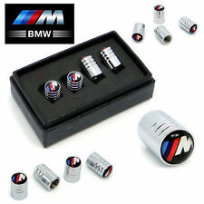 BMW M-Power Deluxe Wheel Valve Dust Caps. M3 M5 X3 X5 330 325 Z3 Z4 M-Sport