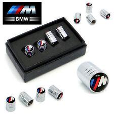 BMW M-Power Deluxe Wheel Valve Dust Caps. M3 M5 X3 X5 330 325 Z3 Z4 M-Sport