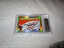 Tom Glavine Phil Niekro 2014 Leaf Masterpiece Cut Signature card 1/1 Braves JSA