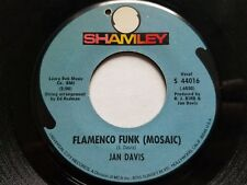 JAN DAVIS - Flamenco Funk (Mosaic) / Hornet's Nest (NM) 1969 JAZZ FUNK Shamley