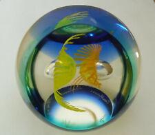 """Ltd Ed Caithness """"Fire Birds"""" Paperweight Helen MacDonald(266/500) - >3"""""""