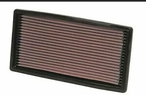 K&N Drop In Replacement Panel Air Filter Fits 92-04 Chevrolet S10 Pickup 4.3L V6