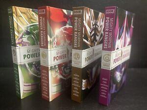 Mighty Morphin Power Rangers Deluxe Hardcover Lot Collectors Set