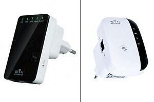 Ripetitore segnale wifi wireless-n 2.4GHz wps 300Mbps amplificatore estendi rete