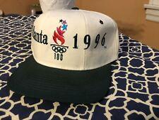 Vintage 1996 Olympic Games Atlanta Starter The Classic Snapback Hat Mint!!!