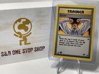 Fervor 124/132 (1st Edition) Trainer - Gym Challenge - Pokemon TCG 2000 WOTC