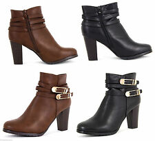 Unbranded Patternless Block Boots for Women
