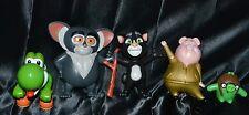 Lot of 5 Figures Figurines Yoshi Tom Cat Gunter Maurice Angry Birds Pilot Pig