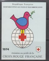 France 1974 SG XSB24 Red Cross Booklet Mint MNH