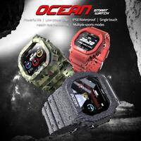Sports Smart Watch unisex IP68 Waterproof Fitness Rugged Outdoor Smartwatch Men