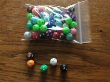 Acrylic round spacer beads approx 10mm  x 50