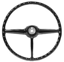 1947-53 CHEVY PU STEERING WHEEL 47-53 BLACK
