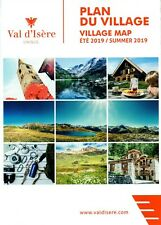 Sheet Map Isere, France, Accommodation Location Listings