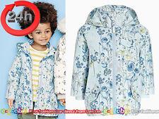NEXT Mantel Jacke mit Kapuze Blumen für Mädchen 4-5 Jahre 110cm 15b
