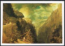 Postcard. Art. Painting. Battle of Fort Rock. J. Turner. Tate Gallery. Unused.