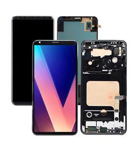 For LG V35 V20 V30 LCD Screen Touch Digitizer Aassembly Replacement + Frame Lot