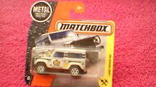 Matchbox (UK Card) - 2017 - #48 Land Rover 90 - Silver