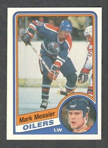 1984-85 MARK MESSIER #254 NM-MT OPC KEY Oilers HALL OF FAME Star NHL Hockey Card