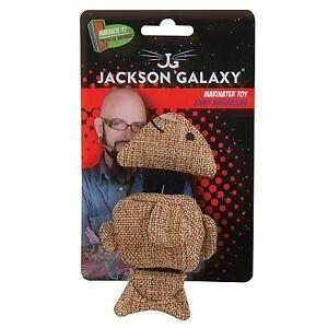 Petmate Jackson Galaxy Small Marinator Natural Fish Catnip Treat Kitten Cat Toy