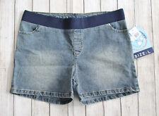 NWT Planet Motherhood Maternity Jean Shorts Vintage Wash Denim Size-Large NEW