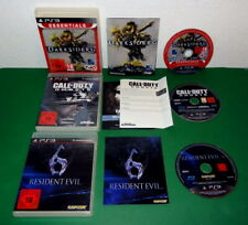 3 Spiele: Darksiders, Resident Evil 6 u Call of Duty Ghosts PS3 Playstation 3