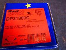 FIAT 500 EBC REDSTUFF REAR DISC PADS, POP, SPORT, LOUNGE, ABARTH, TURBO
