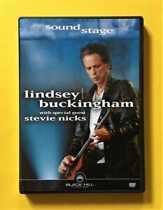 Lindsey Buckingham 'Soundstage' DVD (Black Hill, 2004) with guest Stevie Nicks!