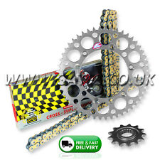 Yamaha YZ125 2005-2017 Regina ORN-6 O'Ring Chain And Silver Renthal Sprocket Kit
