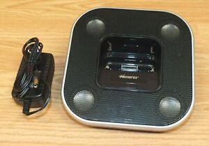 Genuine Memorex (Mi2032-BLK) iPod Docking Speaker With AC Power Supply **READ**