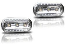 INDICADORES LATERALES LED CROMO M1 CRISTAL VW GOLF 4 EDITION WEMBLEY